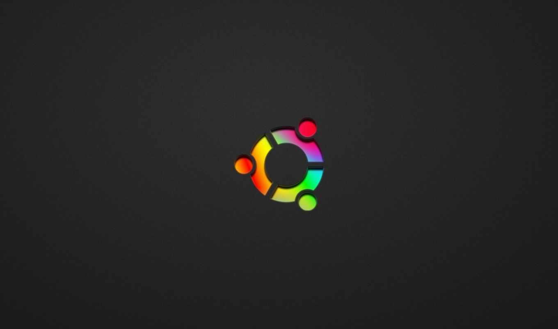 ubuntu, минимализм, colored, wallpaper, linux, картинка, компьютер, смотрите, hi, tech,