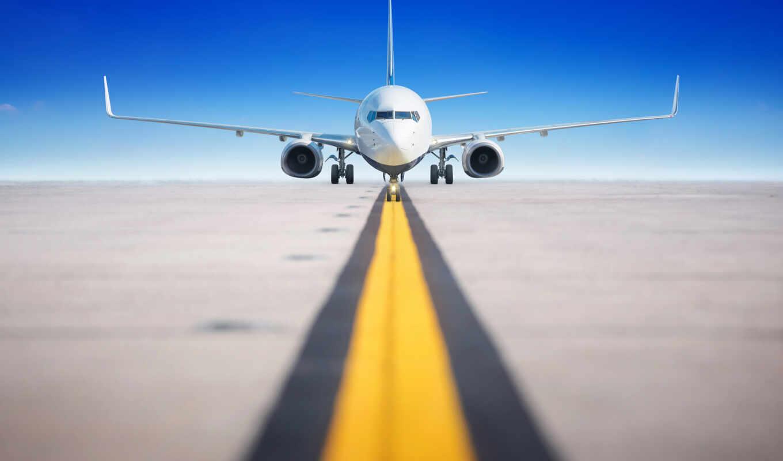 plane, airport, дорогой, хороший, международный, небо, использование, narrow, takeoff
