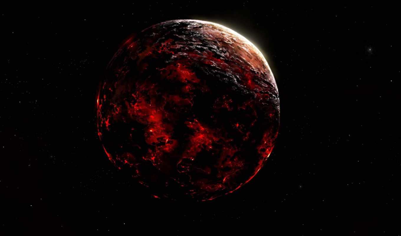 планета, космос, просмотреть, vangelista, alberto, пространство, арт, лава, небо,