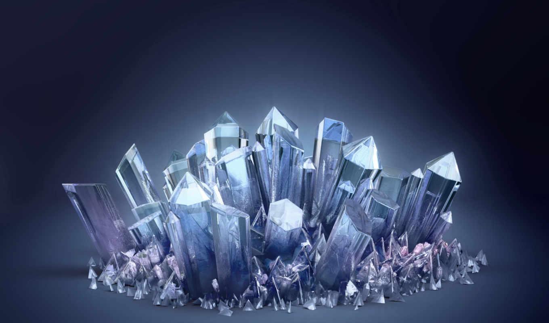 crystals, кристаллы, синий, desktop, tags, home, кристалл,