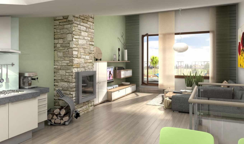 интерьер, стиль, вилла, коттедж, дом, дизайн, пространство, широкоформатные, жилое, камины,