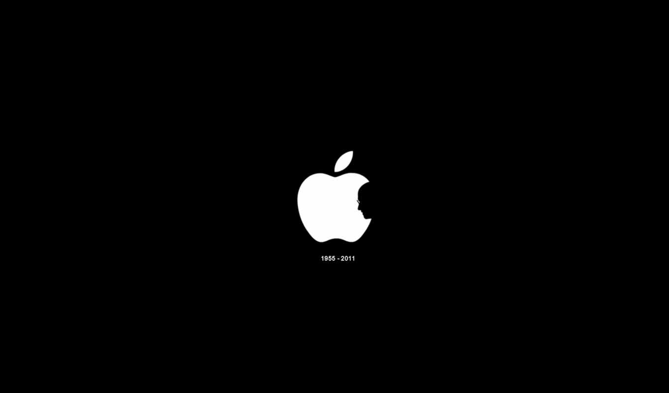 apple, iphone, ipad, black, white, steve, jobs