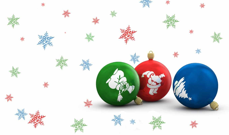 new, новогодние, игрушки, free, год, happy, download, дек,