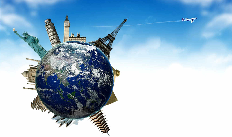 путешествия, turret, land, tourism, airplane, самолёт, planet, мяч, достопримечател, эйфелева,