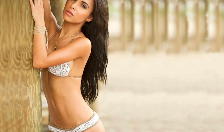 лиза, morales, sexy, bikinis, devushki, are,