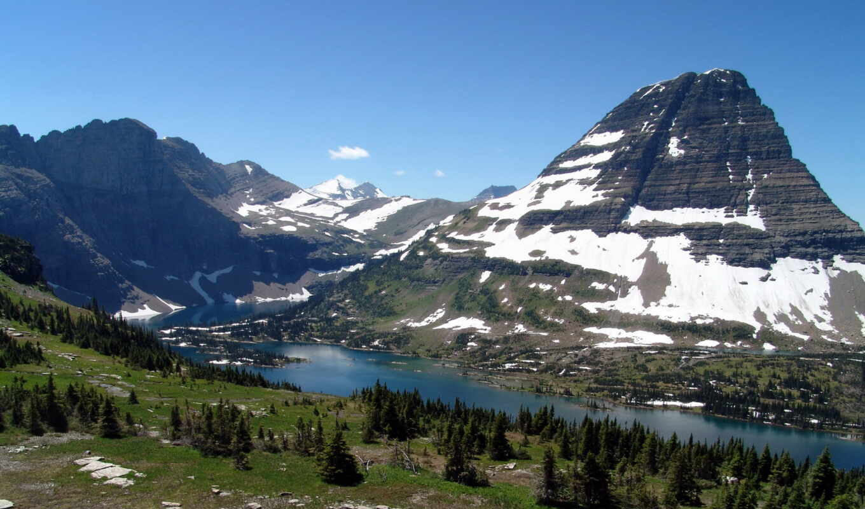 восстановление, glacier, starus, природа, парки, горы, картинка, park, нояб,