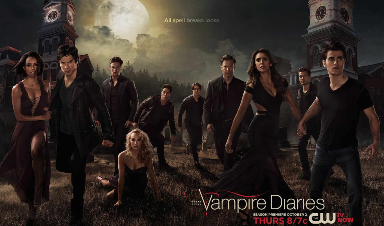 вампира, дневники, season, diaries, серия, vampire,