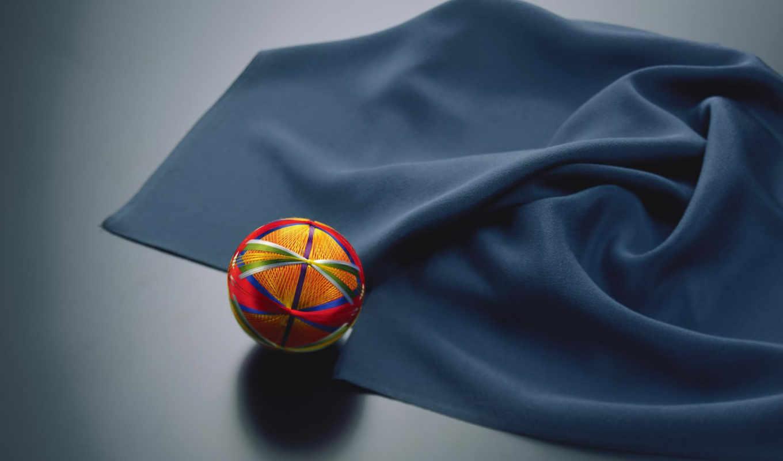 ткань, нитки, высококачествен, мяч,