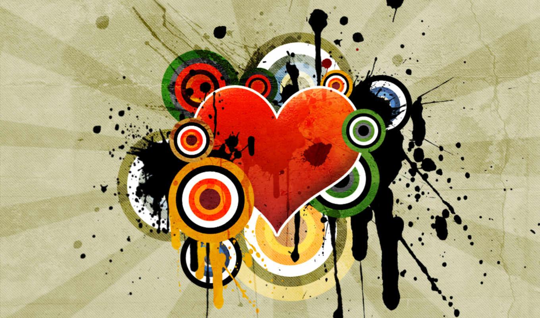 вектор, art, free, сердце, desktop, you,