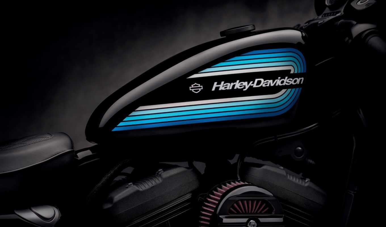 harley, davidson, мотоцикл, black, macbook, mac