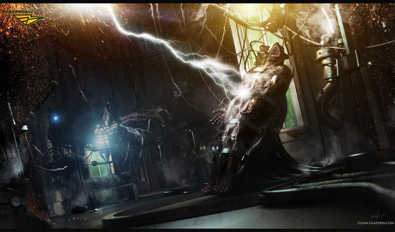 опыты, ужас, молния, оборотень, монстр, glazyrin,