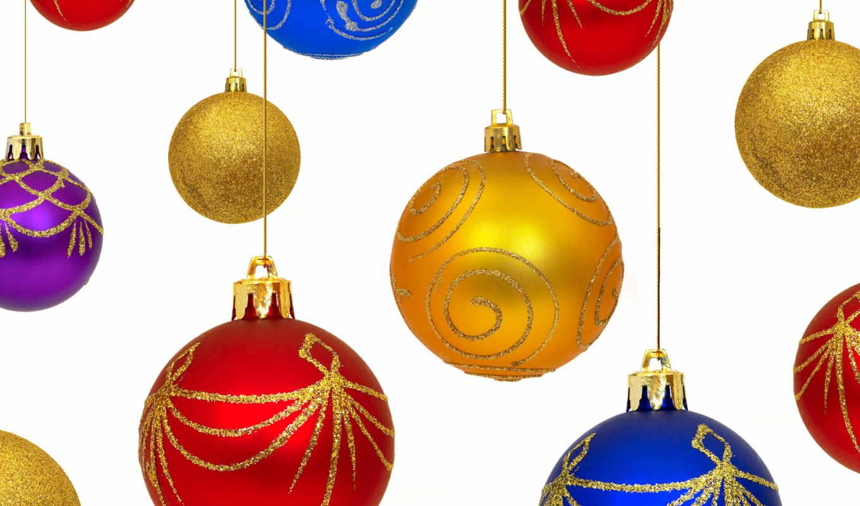 christmas, игрушки, год, новый, шар, новогодние, decoration, шарики, елочные, ornaments, background,