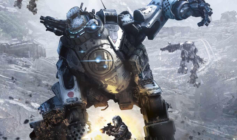 titanfall, respawn, сервера, февр, live, xbox, меха, разработчики, shooter, gamebomb, art,