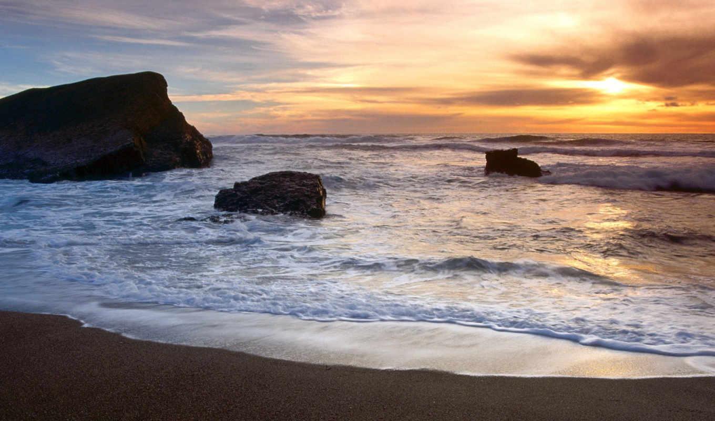 море, природа, пляж, пейзажи -, моря,