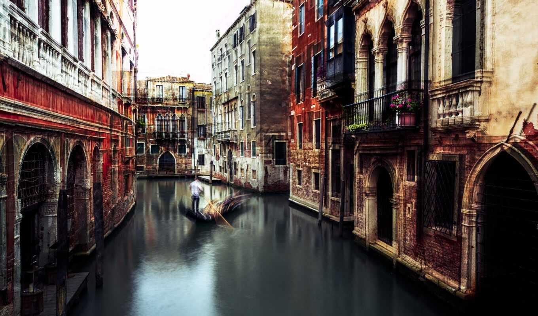 venice, italy, город, ночь, long, лодка, exposure, canal, carmine, chiriaco, улица