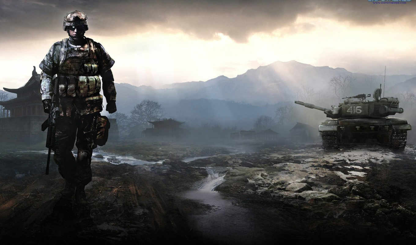 battlefield, bad company, xbox, ghz, игры,