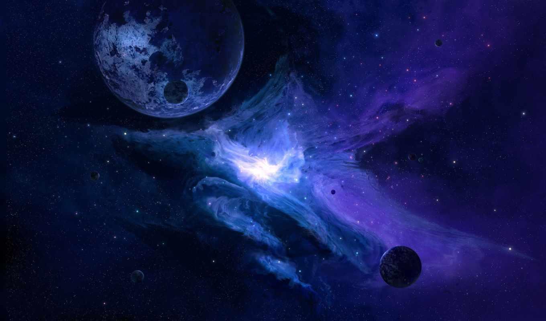 cosmos, полноэкранные, широкоэкранные, art, planet, спутник, flash, звезды,