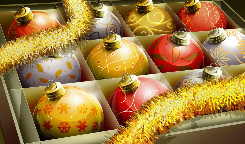 christmas, balls, украшения, игрушки, год, новый, desktop, ornaments,