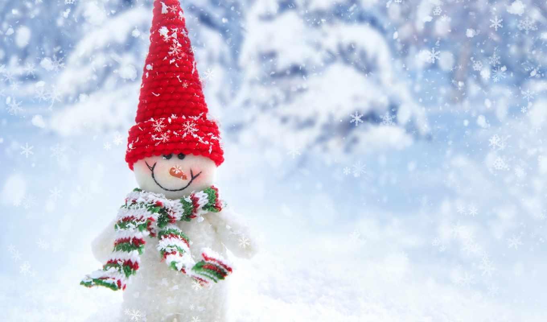 winter, снег, природа, new, год, landscape, house,
