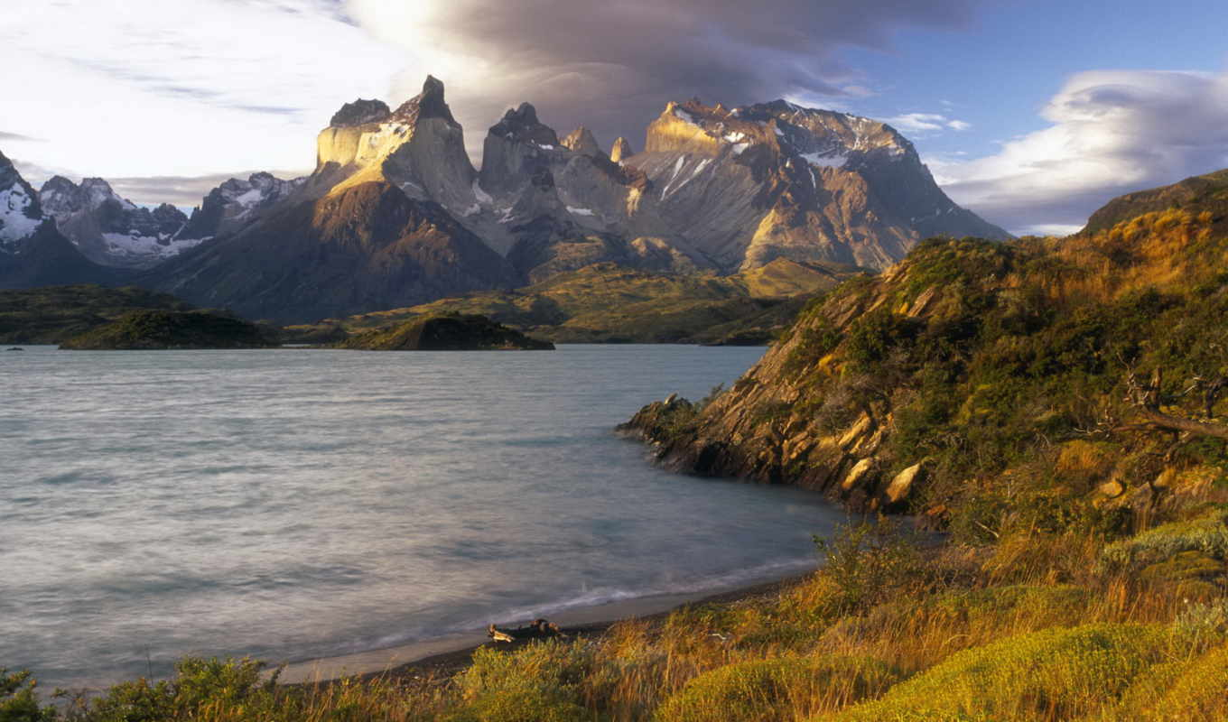 del, paine, torres, chile, park, patagonia, nation
