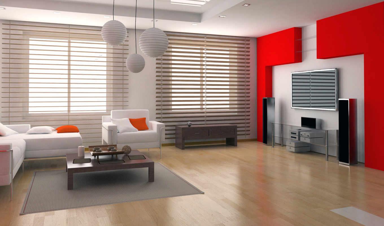 жалюзи, горизонтальные, interior, вертикальные, designs, home, design, стиль, диван, телевизор, room, ideas, колонки, кресло, квартиры, белый, красный, stylish,