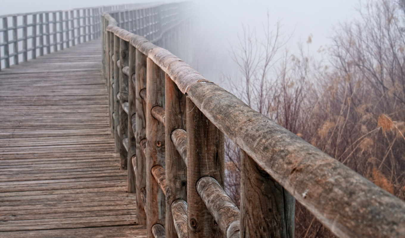 pantalla, macro, 안개, download, paisajes, bridge, fog, fondos, fondo,