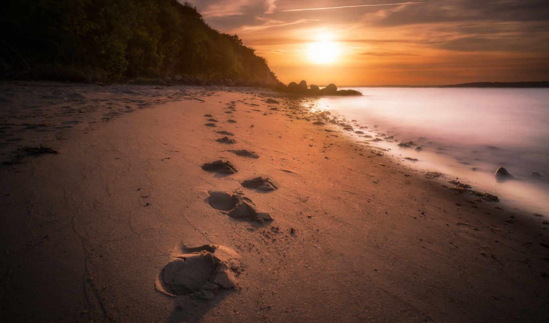 пляж, top, изображение, posts,