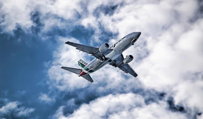 небо, авиация, самолет, небе, самолёты, картинка, вернуться, wallpaper, поделиться, изображения,