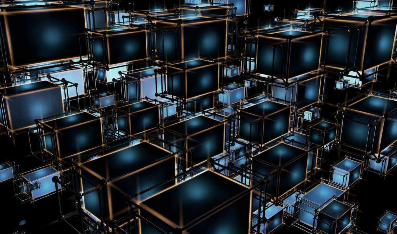 dark, прямоугольники, структура, квадраты, structures, cubes, hintergrundbilder, ipad, techno, abstrakte, картинку,