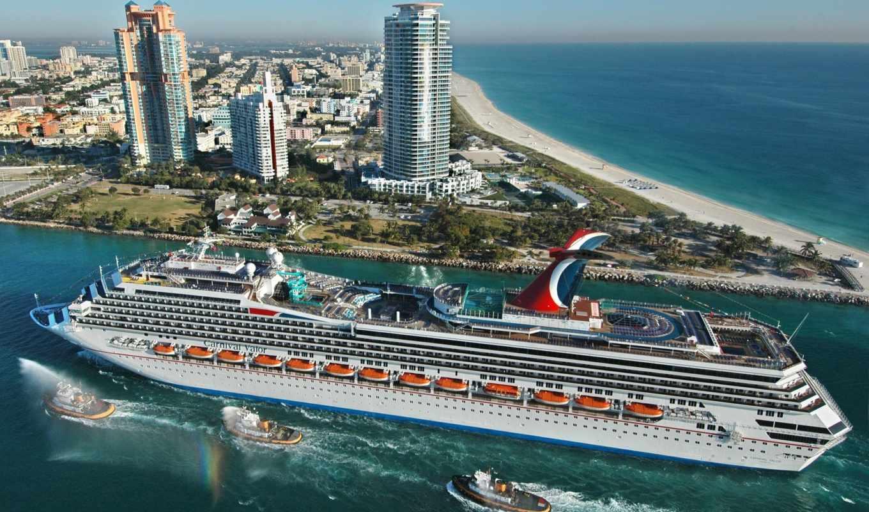 майами, hotel, города, airport, сша, здания, пляж, корабль, океан, путешествие, места, город,