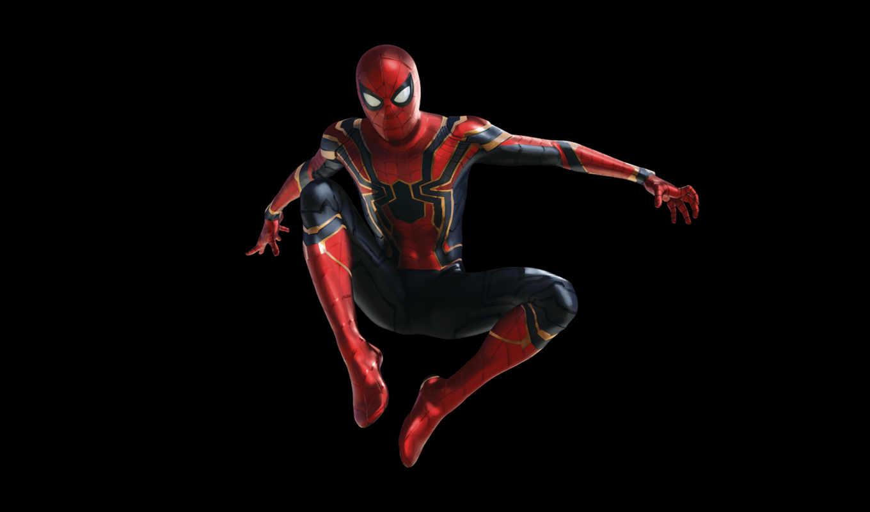 мужчина, паук, war, бесконечность, avengers, мстители,