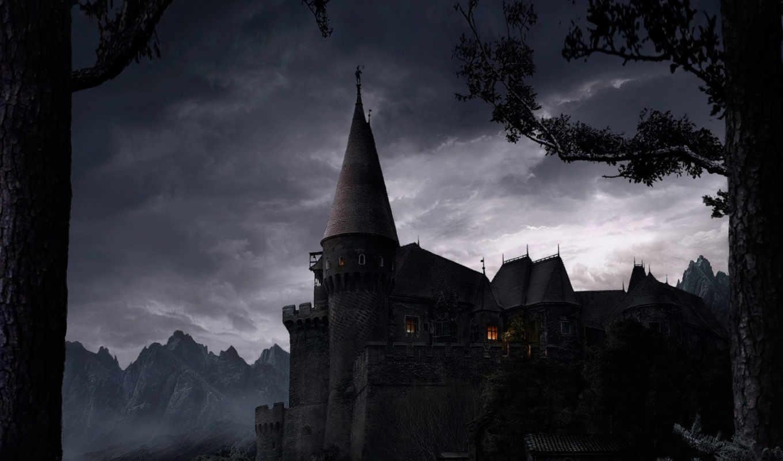 dark, fantasy, final, gothic, castle,