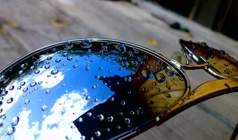 water, очки,