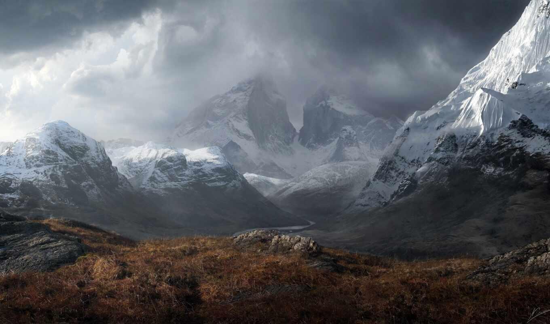 гора, лепесток, west