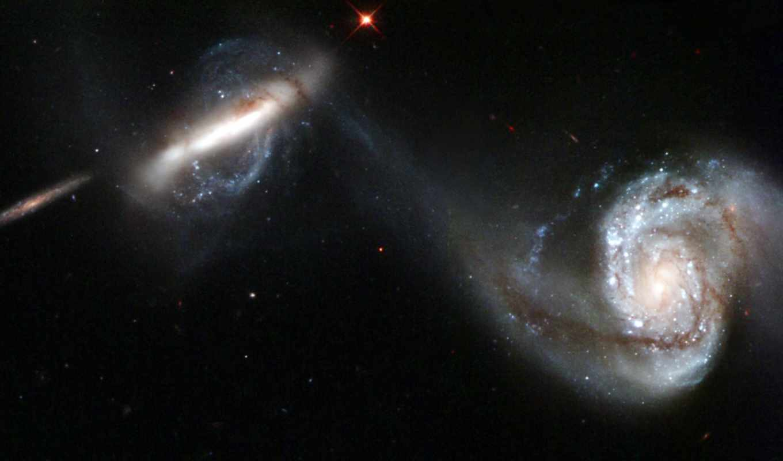 stars, image, space, galaxies, galaxy, hubble, outer, хаббл, paveiksliukas, arp, pair, interacting, galaktikos, hablo, žvaigždutės, kosmoso,