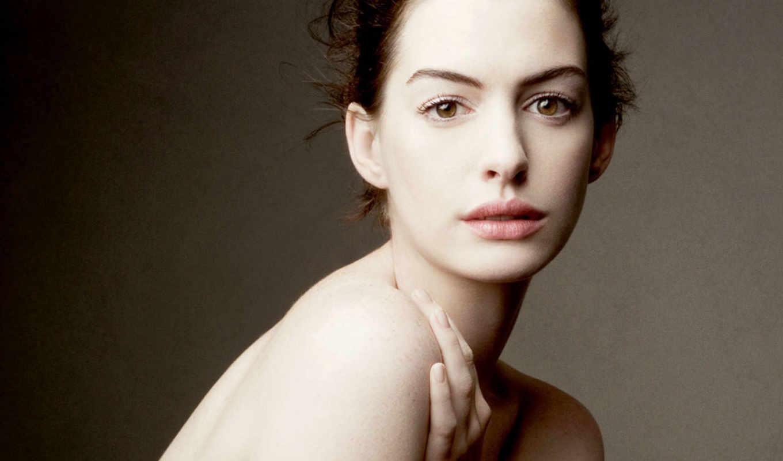 макияж, нюдовый, anne, hathaway, сделать, onlyx, женский, нуд, макияжа, калейдоскоп, глаз,