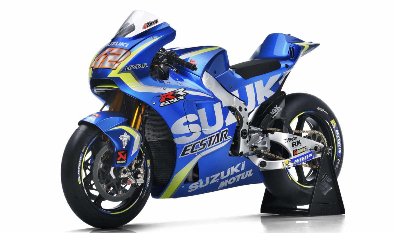 suzuki, motogp, янв, iannone, andrea, ecstar, команда, bikes, gsx, motovudu, мотоциклы,