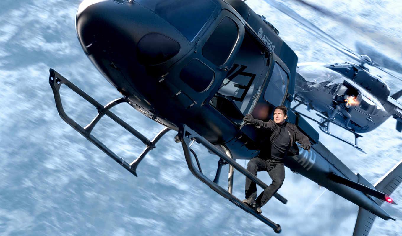 миссия, impossible, fallout, вертолет, tom, cruise,