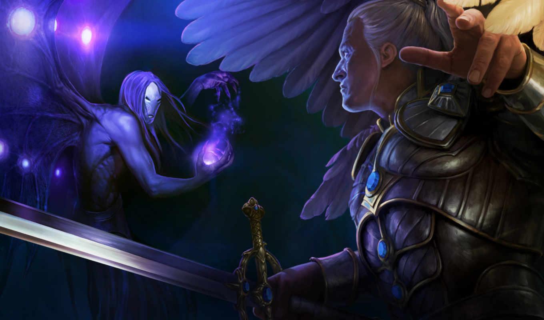 might, heroes, magic, крылья, меч,