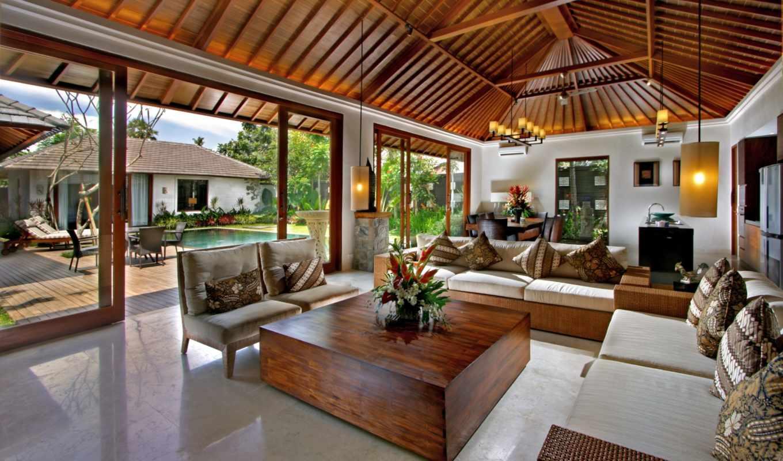 интерьер, design, бассейн, стиль, диваны, подушки,