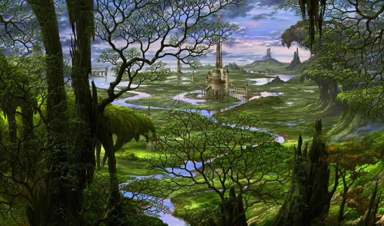 uchio, kazumasa, art, драконы, году, fantasy,