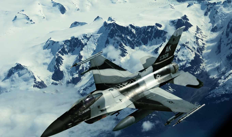 картинка, миг, изображения, aggressor, истребитель, военный, air, сила, авиация, falcon,