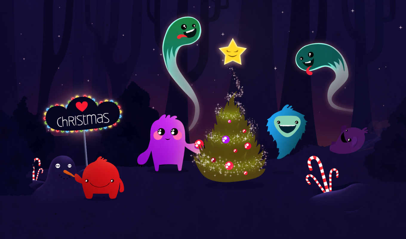 christmas, desktop, characters, free, personajes, merry, background, weihnachten, navidad, powerpoint, animated, fotos, template, click,