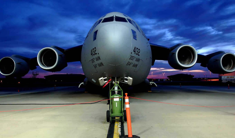 , самолёт, взлетная, двигатели, боинг,