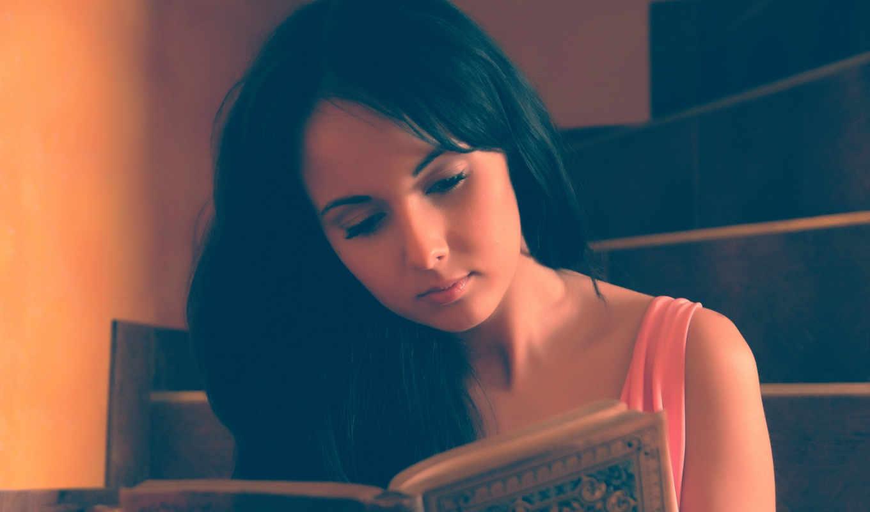 ,девушка,книга,чтение,