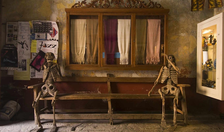 скелеты, дек, магазин, rendering, без,