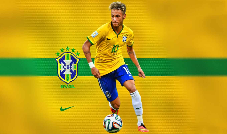 neymar, brazil, флаг, brasil, барселона
