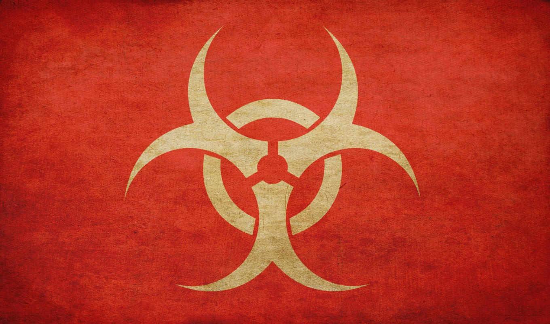 biohazard, знак, такстура,