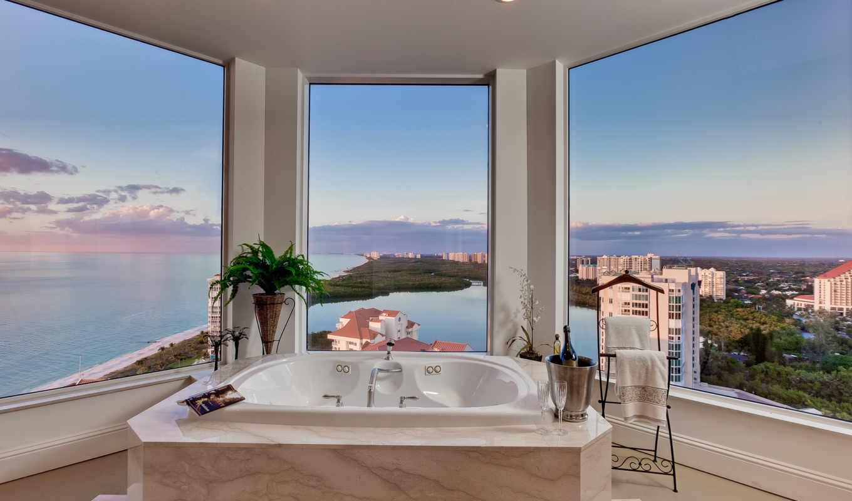 интерьер, design, стиль, квартира, городская, penthouse,
