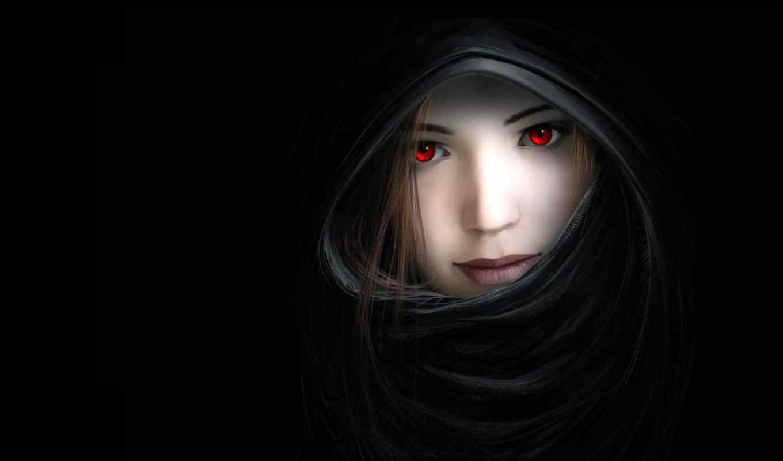 девушка, свет, красные, нарисованных, fantasy, how, devushki, amino, улыбка, she,